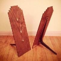 Display de madeira